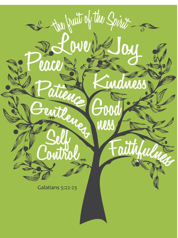 Walking Fruit Trees Galatians 514 22 26 New Crossing Church